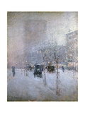Late Afternoon, New York, Winter, 1900