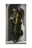 An Angel in Green with a Vielle, C. 1490-1499