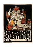 Poster for the Vienna Secession 49th Exhibition, 1918