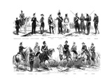 Costumes of the Swiss Federal Army, 1857