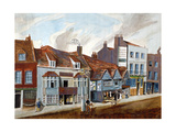 The George Tavern and Shop Fronts, Newington Butts, Southwark, London, C1825