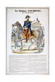 Le General Cavaignac 28 Juin 1848, France