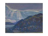 Rocks and Cliffs (From the Series Ladog), 1917-1918
