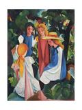 Four Girls, 1912-1913