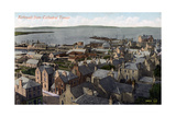 Kirkwall from the Cathedral Tower, Orkney, Scotland, 20th Century