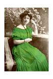 Lilian Braithwaite (1873-194), English Actress, 1907