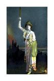 Zena Dare (1887-197), English Singer and Actress, 1908
