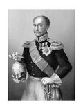 Nicholas I, Tsar of Russia in Military Uniform, C1860