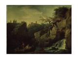 Romantic Landscape (Landscape in the Taste of Salvatore Ros), 1746