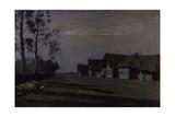 Moon Night, a Village, 1897