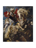 Saint George and the Dragon, 1606-1608