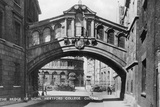 The Bridge of Sighs, Hertford College, Oxford University, Oxford, Early 20th Century
