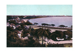 View from Malabar Hill, Bombay, India, Early 20th Century