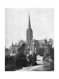 Salisbury Cathedral, 1911-1912