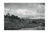 Jeruslem and the Garden of Gethsemane, 1937