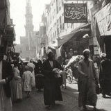 Bazaar of El Ghoria, Cairo, Egypt, 20th Century