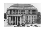 Manchester Central Library, 1937
