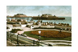 West Pier and Italian Gardens, Brighton, Sussex, 1928