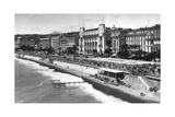 Le Palais De La Mediterranee on Promenade Des Anglais, Nice, South of France, Early 20th Century