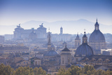Italy, Lazio, Rome, View Looking Towards Vittorio Emanuele Ii Monument