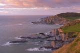 Glorius Evening Light on the North Devon Coast Near Ilfracombe, England. Spring (May)