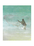 Lone Fisherman 5, 2015