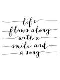 Life Flows Along