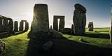 Stonehenge at Sunrise, Looking East