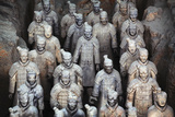Army of Terracotta Warriors in Xi'An, Shaanxi,China
