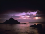 Pink Sky over St. Michael's Mount