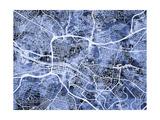 Glasgow City Street Map