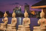 Buddha Statues and Beira Lake