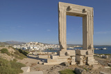 Temple of Apollo on Naxos Island in Greece