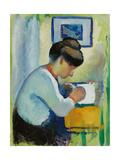 Woman Writing, 1910