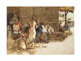 A Cairo Coffee Stall, 1881