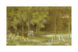 Knight in a Landscape