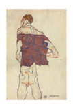 Standing Man, 1913 (Gouache, W/C and Pencil on Paper) (Recto of 996379)