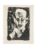 Portrait of Carl Sternheim, 1916