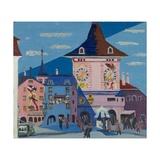 Bern with Belltower, 1935