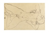 Reclining Female Nude, 1914