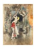 An Elegant Woman in an Interior, C. 1873