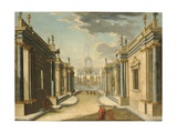 Architectural Fantasy with the Daughters of Minyas from Ovid's 'Metamorphoses'