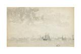 Grey and Silver - North Sea, C.1884