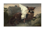 Fox and Goose, C.1835