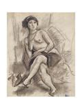Seated Nude Model, C.1925-26