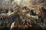 Triumph of the Immaculate, 1710-1715