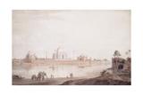 The Taj Mahal, Agra, Uttar Pradesh, 1789