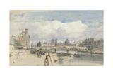 Le Pont Royal, Paris, C.1828