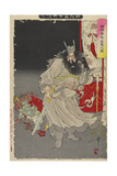 Shoki Capturing a Demon, 1890