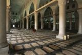 Interior of Al-Aqsa Mosque, Old City of Jerusalem (Unesco World Heritage List, 1981), Israel